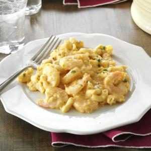 Buffalo Shrimp Mac & Cheese Recipe