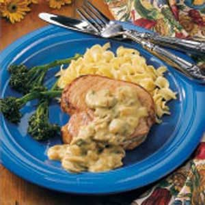 Stroganoff-Style Pork Chops Recipe