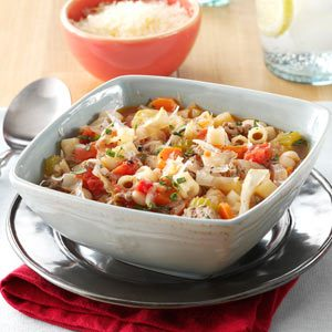 Slow Cooker Pasta e Fagioli Recipe