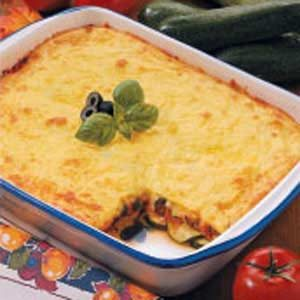 Classic Cheesy Zucchini Bake Recipe