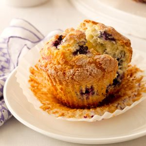 Jumbo Blueberry Muffins Recipe