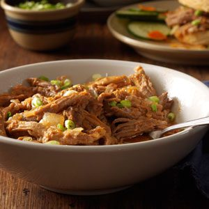 Pulled Pork with Ginger Sauce Recipe