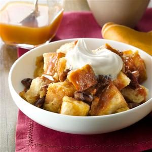 Butterscotch-Pecan Bread Pudding Recipe