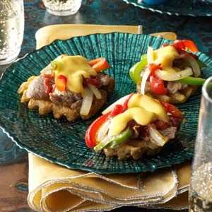 Philly Cheesesteak Bites Recipe
