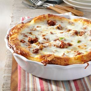 Tebow Family Pizza Pie Recipe