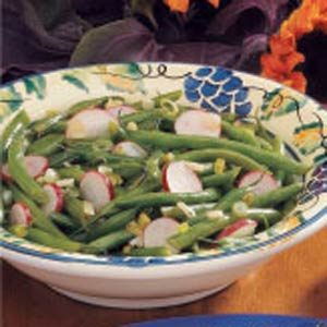 Green Beans with Radishes Recipe