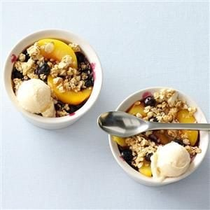 Fruit & Granola Crisp with Yogurt