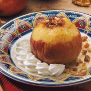 Date-Filled Baked Apple Recipe