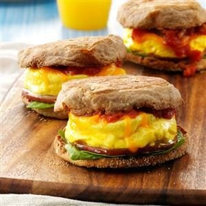 Microwave Egg Sandwich