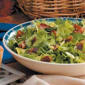 Hot Spinach Salad Recipe