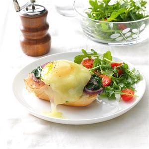 Deluxe Ham & Egg Sandwiches