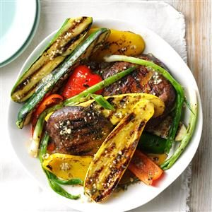 Grilled Veggies with Caper Butter Recipe
