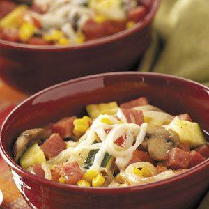 Ham 'n' Veggie Soup Recipe
