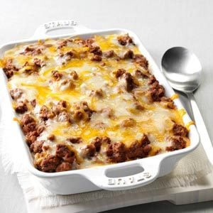 Spaghetti Pie Casserole Recipe