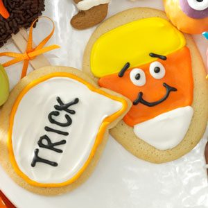 Candy Corn Conversation Cookies
