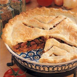 Taco Chili Pie Recipe