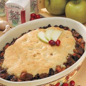 Spiced Pork Potpie Recipe