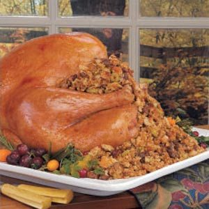 Turkey with Chestnut Stuffing Recipe