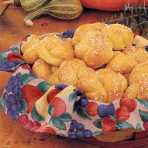 Pumpkin Knot Rolls Recipe