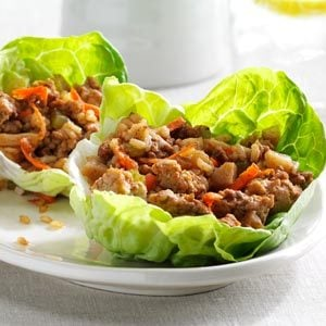 Asian Turkey Lettuce Cups Recipe
