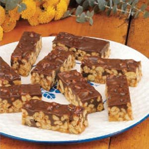 Peanutty Caramel Bars