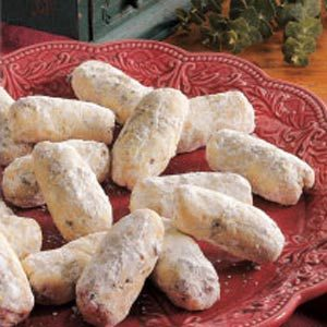 Cream Cheese Finger Cookies Recipe