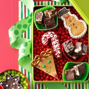 Crunchy Mint Fudge Recipe