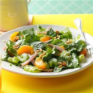 Ham & Mandarin Salad Recipe