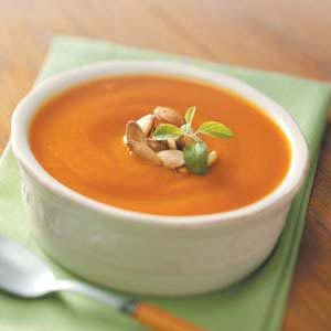 Fresh Pumpkin Soup