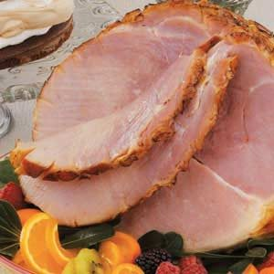Baked Ham with Orange Glaze
