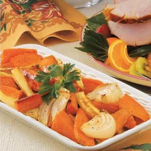 Sweet Potatoes and Parsnips Recipe