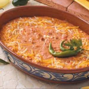 Makeover Cheesy Bean Dip