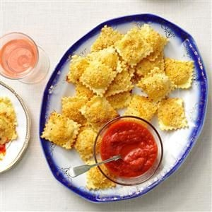 Toasted Ravioli Puffs Recipe
