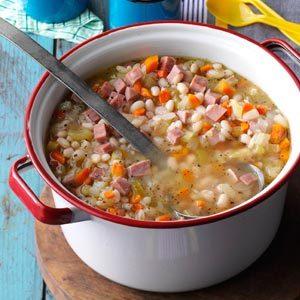 Campfire Bean 'N' Ham Soup Recipe