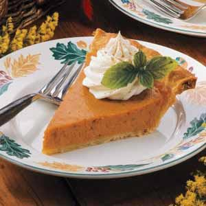 Mom's Pumpkin Pie