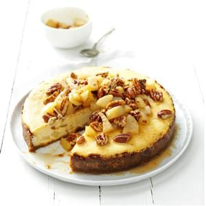 Honey Pear Cheesecake Recipe