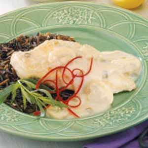 Mushroom Cream Chicken Recipe