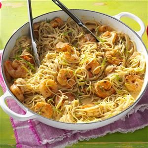 Thai Lime Shrimp & Noodles Recipe