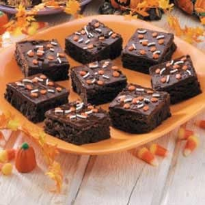 Chocolate-Glazed Brownies Recipe