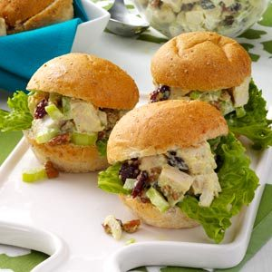 Chicken Salad Party Sandwiches Recipe