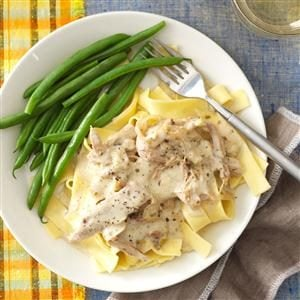 Slow-Cooked Turkey Stroganoff Recipe