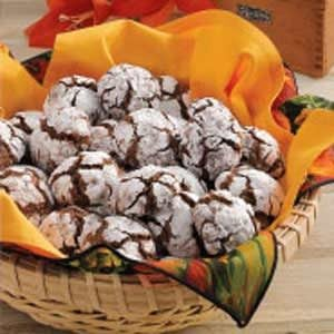 Crinkle-Top Chocolate Cookies Recipe