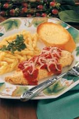 Lighter Chicken Parmigiana