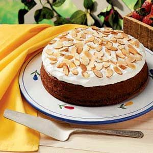 Chocolate Almond Cheesecake Recipe