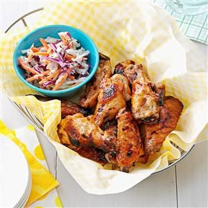 Gingered Sweet & Spicy Hot Wings Recipe