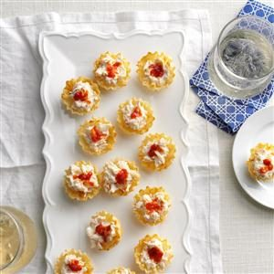 Crabbie Phyllo Cups Recipe