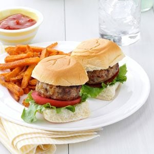 Mini Hawaiian Burgers Recipe