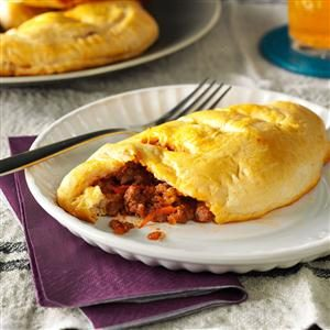 Meaty Sloppy Joe Pockets Recipe