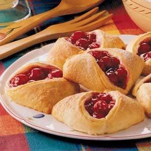 Cheery Cherry Pastries Recipe