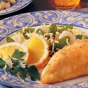 Citrus Rice Pilaf Recipe